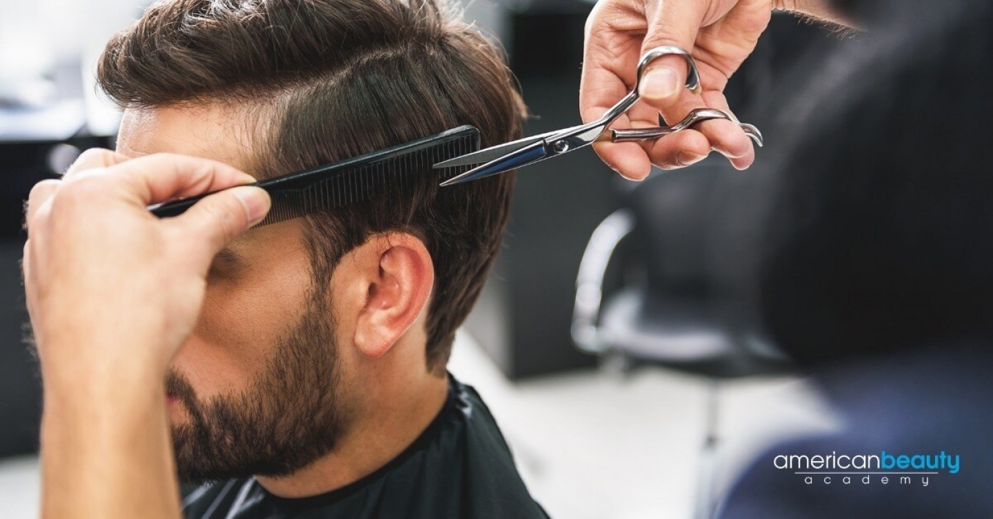 Barber School Training Session at American Beauty Academy
